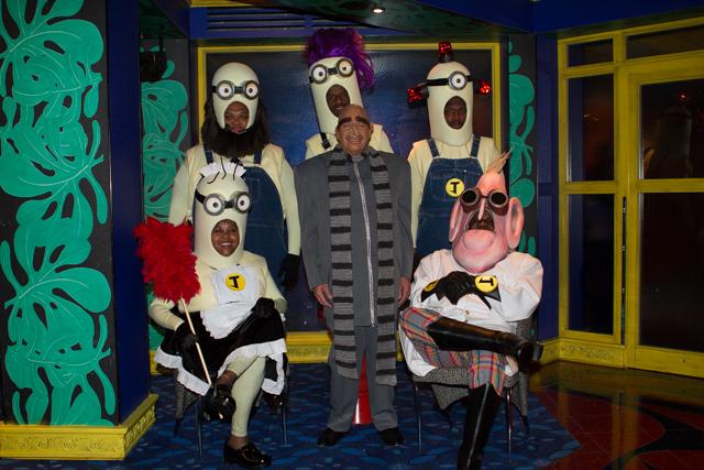 "The TJMS crew as the ""Despicable Me"" cast!"