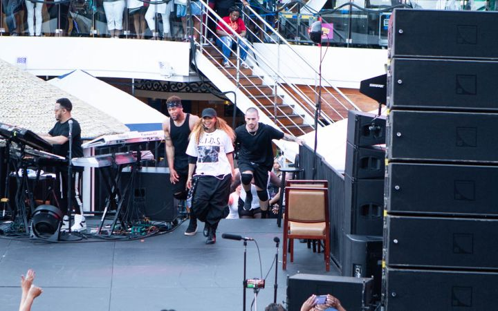 Janet Jackson Gets the Party Started on the 2019 Tom Joyner Fantastic Voyage Presented by Denny's