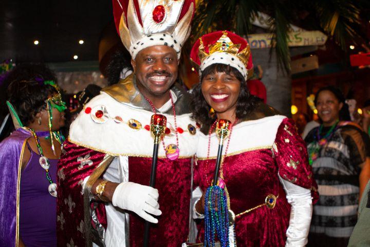 Mardi Gras Night on the 2019 Fantastic Voyage